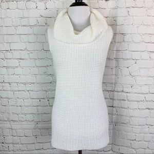 Chico's Sweaters - Chico's Sleeveless Knit Cowl Neck Sweater Top